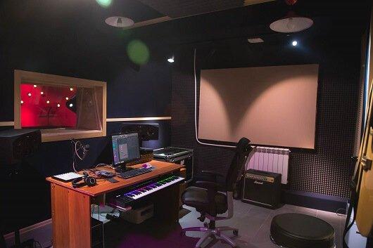 Общий план студии